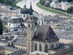 https://flic.kr/p/LifY8b | Franciscan Church 188a | Salzburger Franziskanerkirche,  In the background: Kollegienkirche (Universitätskirche)