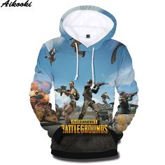 deed78faa2f PUBG 3D Hoodies Men s Sweatshirt