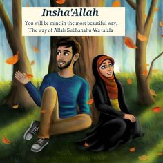 The male cartoon looks so much like someone I have a crush on😍 Muslim Couple Quotes, Cute Muslim Couples, Muslim Love Quotes, Love In Islam, Islamic Love Quotes, Love Quotes For Him, Cute Couples, Love Cartoon Couple, Cute Couple Art
