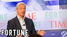 Watch the Full Interview With Jamie Dimon, CEO of JPMorgan Chase | CEO I... Jpmorgan Chase & Co, Jamie Dimon, Interview, Watch, Fictional Characters, Clock, Bracelet Watch, Clocks, Fantasy Characters