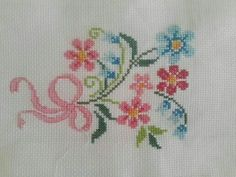 Cross stitch (taken photo)