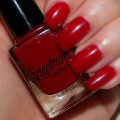 DEVILISH Red Nail Polish