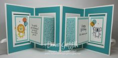 Two for Thursday ~ Multi-Panel Accordion Fold videos - Dawn's Stamping Thoughts