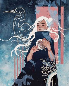 Hieu Nguyen, better known by his alias Kelogsloops, is an Australian watercolor artist. Kelogsloops also makes digital drawings. Art Sketches, Art Drawings, Guache, Aesthetic Art, Traditional Art, Cute Art, Art Inspo, New Art, Character Art