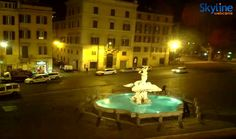 Live Cam Rome - Barberini Square