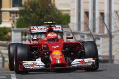 #GPMonaco 2014 #Ferrari #Raikkonen