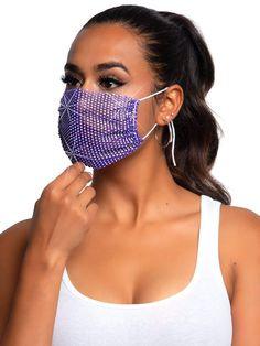 Festival Wear, Festival Outfits, Rave Gear, Festival Clothing, Rave Outfits, Fashion Face Mask, Woman Face, Everyday Look, Iridescent
