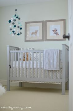 Gender Neutral Safari Nursery - A Burst of Beautiful