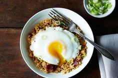 Congratulations to Kathleen @ hapanom, whose Breakfast Fried Rice won the contest for Your Best Weekday Breakfast Recipe! Breakfast Fried Rice, Father's Day Breakfast, Savory Breakfast, How To Make Breakfast, Breakfast Dishes, Breakfast Ideas, Rice Breakfast Recipes, Arroz Frito, Huevos Fritos