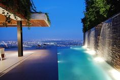 House in the Hollywood Hills overlooking Los Angeles