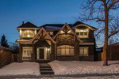 Copyright Canterra Custom Homes Ltd. New Builds, Home Builders, Custom Homes, Luxury Homes, Custom Design, Exterior, Cabin, Studio, Calgary
