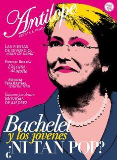 Portada Antilope marzo 2013, Michelle Bachelet.