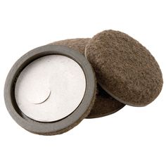 "Waxman Consumer Group 4333295N 2"" Self-Stick Felt Bottom Round Furniture Sliders 4-ct"