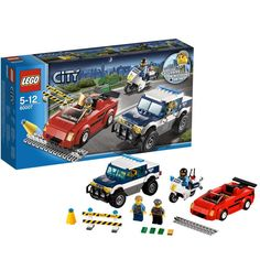 LEGO CITY Police High Speed Chase >>> You can find out more details at the link of the image. Sports Games For Kids, Lego For Kids, Lego Wheels, Best Lego Sets, Buy Lego, Shop Lego, Lego Boards, Lego City Police, Amazing Lego Creations