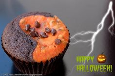 pumpkin black bottom cupcakes with cream cheese -- sounds yummy!