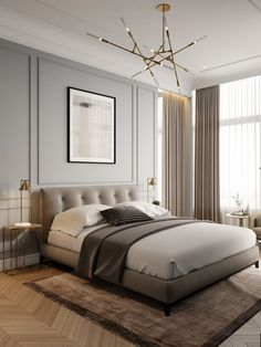 15 Modern Bedroom Interior Design Ideas That Make You Look Twice Red Home Decor, Home Decor Bedroom, Bedroom Ideas, Bedroom Inspo, Bedroom Colors, Diy Bedroom, Bedroom Loft, Bedroom Neutral, Bedroom Interiors