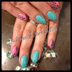 Fun Cheetah Print #nails #nail #fashion #style #maniq #cute #beauty #beautiful #instagood #pretty #girl #girls #stylish #sparkles #styles #glitter #nailart #art #photooftheday #youngnails #pink #gelnails #cheetah #cheetahprint #love #shiny #animalprint #gelpolish #nailswag