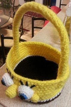 Spongebob Easter Basket | Craftsy