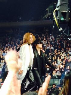 Yoshiki and Toshi. X Japan. Madison Square Garden. 10/11/2014