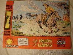 ANTIGUO COMIC ORIGINAL Tim 7 Tiros nº 72. Hispano Americana 1964. ¡IMPECABLE! LOT22