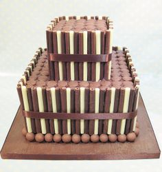 Chocolate Cigarillo, maltesers and buttons cake by sweet_sweet_way, via Flickr