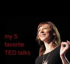 My 5 favorite TED talks for free inspiration in manageable 19-minute doses. Get inspired or learn something new while you fold laundry or make dinner.