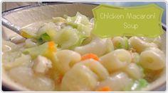 Chicken Macaroni Soup, Yummy Recipes, Yummy Food, Potato Salad, Potatoes, Lunch, Meals, Dinner, Breakfast