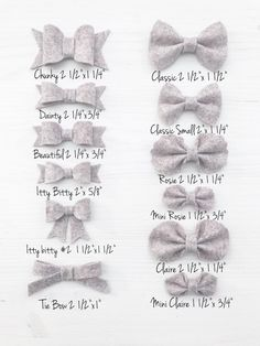 Baby Bows Baby Headband Newborn Headband Infant by AniBabee