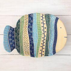 Ceramic dish Ceramic plate Decorative plate Wall by DobrCeramics