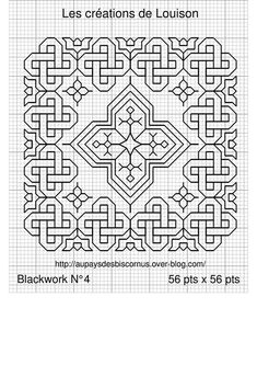 Cross-stitch BLACKWORK Biscornu... ampliar                                                                                                                                                                                 Más