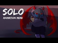I'm back with the Solo meme Lads and Gents! This is meant to be a Halloween special but the idea only clicked after Halloween qwq An. Undertale Memes, Undertale Comic, Clean Bandit, Error Sans, Top Memes, Cute Cuts, Party Hats, Comic Art, Devil
