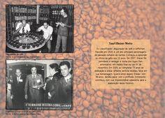 """Saul Eliezer Neto, ex-classificador, degustador de café e coffeman. Elizier conta uma frase que seu pai sempre pronunciava: """"Meu pai dizia que o café é um bichinho que entra na sua pele e você fica viciado para o resto da vida."""", saudoso completa. Fotos: Arquivo pessoal Saul Elizier Neto"""
