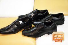 Sapato Masculino Parisi R$69,90.  Loja: Unipé Calçados.