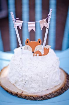 Kyler's Woodland First Birthday Party