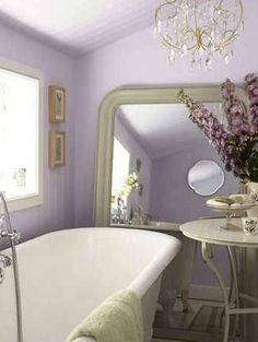 Ideas for my lilac bathroom