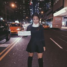 """new videos every..."" wednesday addams everyone. feel free to comment how creative i am and click the link in my bio. NYC halloween was so fun! hope you're having trouble digesting candy like me. by lizzzak"