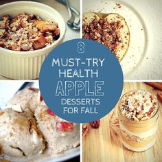 8 Must-Try Healthy Apple Desserts for Fall