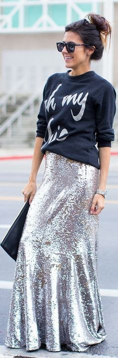 Sweatshirt + Sequins