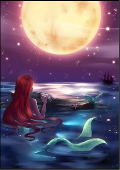 I swear to god... I am obsessed with The Little Mermaid.