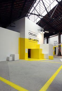 Stazione Futuro Exhibition, Torino | Exhibit & Trade Show Booth Design                                                                                                                                                                                 More