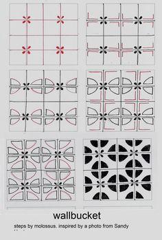 Life Imitates Doodles: Tangle Pattern WallBucket #Zentangle #TanglePattern #Giveaway
