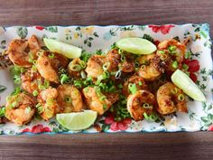Get Honey Chile Shrimp Recipe from Food Network Grilled Shrimp Recipes, Fish Recipes, Seafood Recipes, Recipies, Seafood Meals, Seafood Appetizers, Asian Recipes, Honey Shrimp, Chili Lime Shrimp