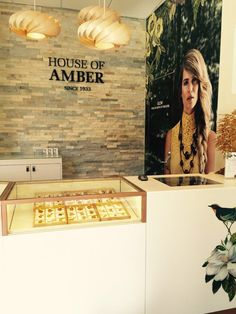 House of Amber - Our shop at Nygade on Stroeget.  Copenhagen, Denmark
