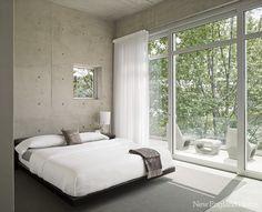 .concrete walls...