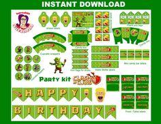 CLASH of CLANS Kit Fiesta Imprimible por ImprimiblesSusaneda