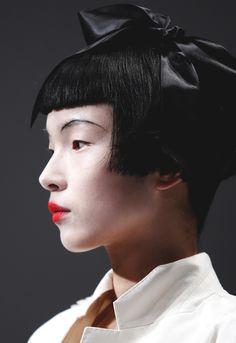 xiao wen ju, schiaparelli haute couture s/s 2014