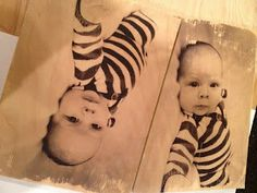 Transfer a picture to wood.  Very cool!