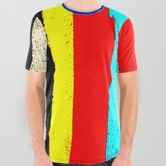 Colourfull Stripes All Over Graphic Tee Compliments, My Design, Graphic Tees, Stripes, Unisex, Mens Tops, Articles, Shirts, Patterns