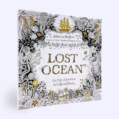 Lost Ocean An Inky Adventure And Coloring Book Johanna Basford 9780143108993 AmazonSmile