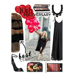 Celebrate Our 10th Polyversary! by keepfashion92 on Polyvore featuring moda, Helmut Lang, Alexander Wang, Miriam Salat and L'Oréal Paris